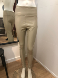 Legging hoge boord beige