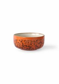 Dessert bowl Panther oranje