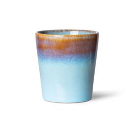 70s ceramics: coffee mug, lagune