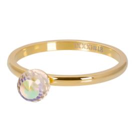 crystal glass ball AB goud