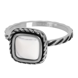 summer white 2mm zilver