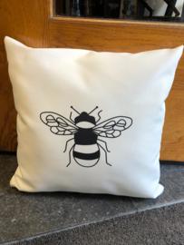 Buitenkussen Bumble bee/ sunshine