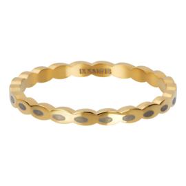 oval shape goud