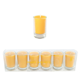 votive candle geel