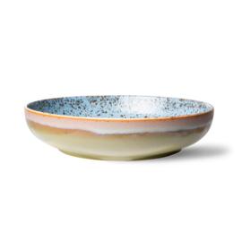 70s ceramics: salad bowl, peat*