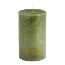 Pillar Candle 9x15cm groen