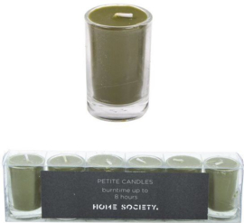 votive candle groen