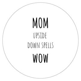 Muurcirkel Mom 30cm