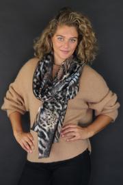 Lisa leopard taupe