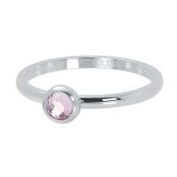 1 zirconia pink zilver
