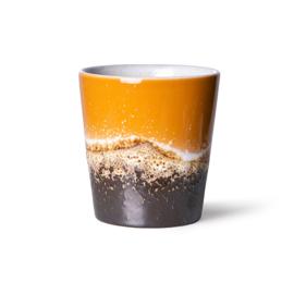 70s ceramics: coffee mug, fire