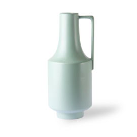 Vase green with handles