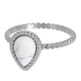 Magic white zilver