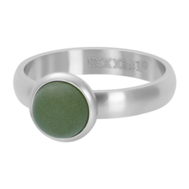 mat stone olivina zilver