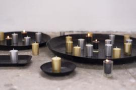 votive candle goud