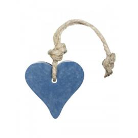 Hanger hart donker blauw jeans