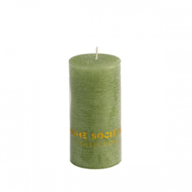 Pillar Candle 5x10 cm Green