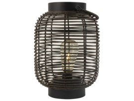 Lantaarn LED zwart