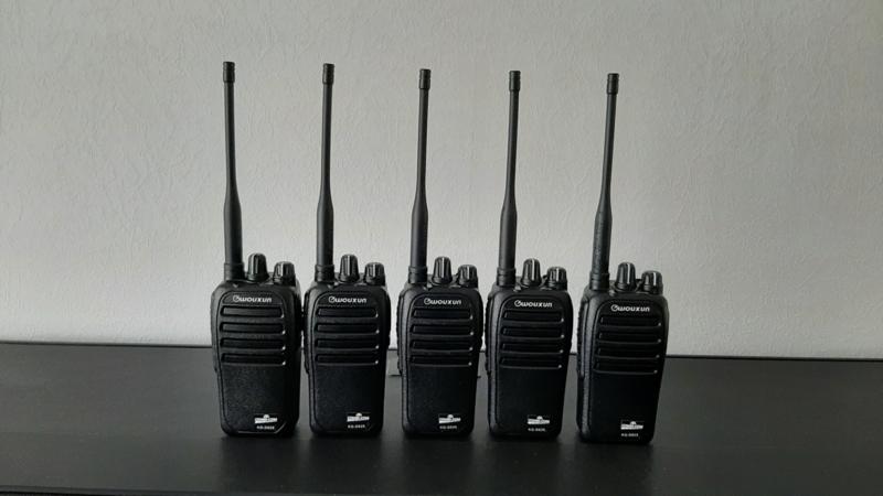 Set UHF/VHF/DMR 5 stuks