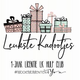 1 jaar licentie LK-Hulp-Club