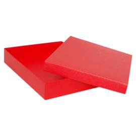 Kadodoos rood met inlay(24 st.)