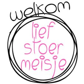 Sluitsticker op rol 50X50mm  Baby Welkom Lief Stoer J/M