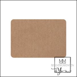 MM4Y Blanco stickers rechtkant