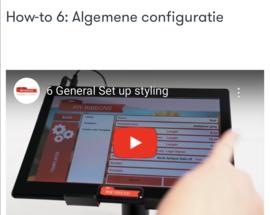 How-to 6: Algemene configuratie