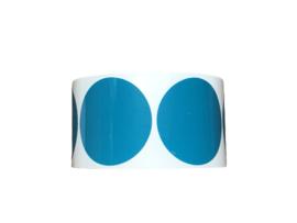 PP-Stickers - Aqua groen 39mmn