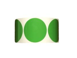 PP-Stickers - Appeltjes groen 39mmn