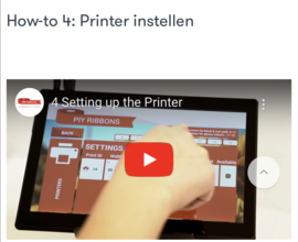 How-to 4: Printer instellen