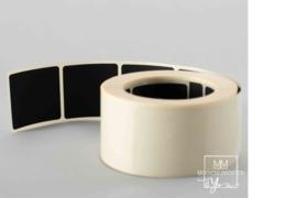 35mm x 35mm Bordkrijt Zwart Vierkant