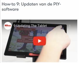 How-to 9: Updaten van de PIY-software