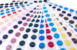 Stickers Transparant