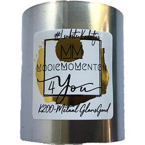 MM4Y Thermische Inkt  Metaal Glazend Goud 110mmX150Meter