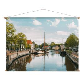 Textielposter Dokkum de Zijl