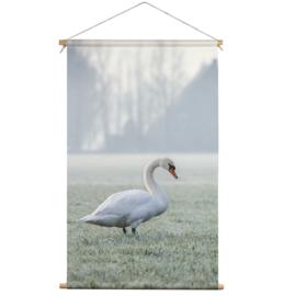 Textielposter Zwaan