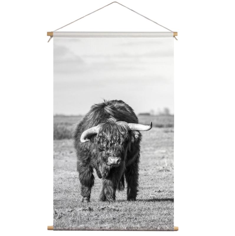 Textielposter Schotse Hooglander