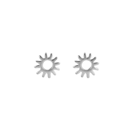 Earrings Burning sun