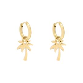 Earrings Palmtree