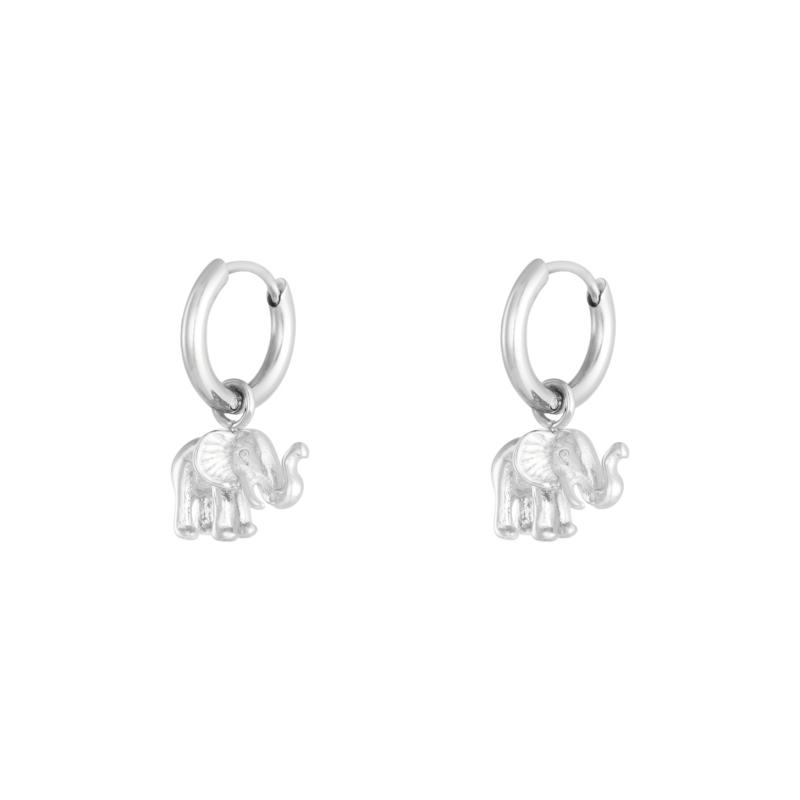 Earrings Elephant