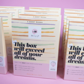 3 SHEET MASKS GIFT BOX