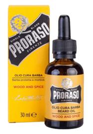Proraso Wood and Spice Beard Oil - 30 ml