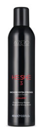 6.Zero He.She 3 Mousse Extra Strong - 400 ml