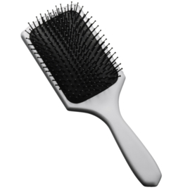 Paddle Brush Bravehead - Zilver