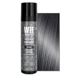 Watercolors Intense Metallic Shampoo - Steel - 250 ml