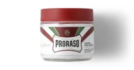 Proraso Red Pre-Shave Cream - 100 ml