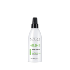 6.Zero He.She 1 Therm Screen Heat Protecting Smoothing Spray - 200 ml