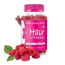 Sweet Gummy Bears Hairvitamins - 60 stuks