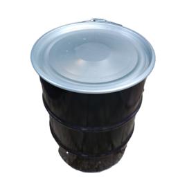 Metalen 60 liter zwart